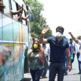 Sonu Sood organises multiple transport buses for hundreds of migrants stuck in Mumbai amid nationwide lockdown