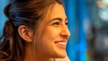 VIDEO Sara Ali Khan becomes overwhelmed with emotions after a fan writes a heartfelt poem for her