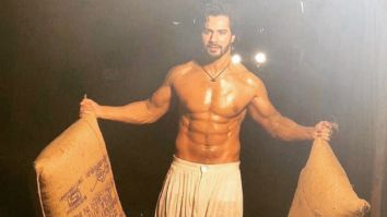 Varun Dhawan shares a throwback picture from Kalank, flaunts his chiseled physique