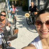 Throwback: Alia Bhatt captures a sun-kissed family selfie as she goes cycling with Mahesh Bhatt, Soni Razdan and Shaheen Bhatt