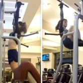 Sharing a workout video, Urvashi Rautela says she may look cute and inviting but asks people to keep their distance