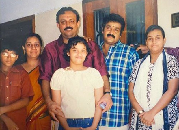 Keerthy Suresh shares a throwback image with Mohanlal; says she has gone from sharing an image to sharing display screen with the actor : Bollywood Information 9