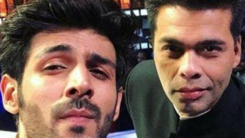 After Karan Johar praises Kartik Aaryan's show Koki Poochega on Instagram live the actor makes a request