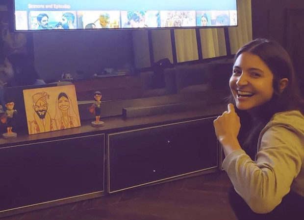 Anushka Sharma unintentionally offers us a glimpse of her marriage ceremony caricature, and we find it irresistible! : Bollywood Information 9