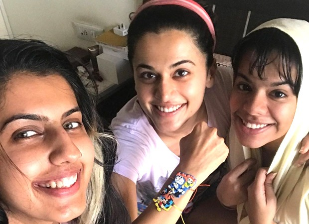 When Taapsee Pannu pressured her sisters to tie her a Rakhi! : Bollywood Information 1