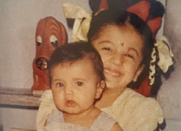 Taapsee Pannu shares a throwback photograph with sister Shagun, reveals her favorite pose : Bollywood Information 9