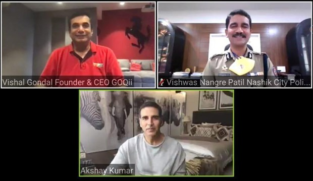 Akshay Kumar and Nashik City Police launch centralized online health system to monitor the wellness of its Police force
