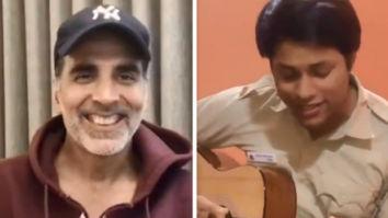 Akshay Kumar lauds a young cop singing 'Teri Mitti' from Kesari
