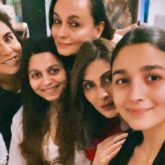Alia Bhatt and Ranbir Kapoor get together a fun night with both their families
