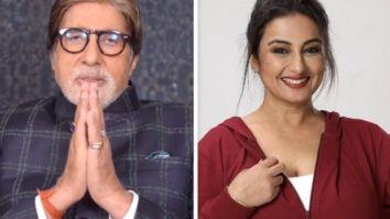 Amitabh Bachchan praises Divya Dutta's poem; the actress is over the moon