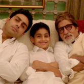 Amitabh Bachchan shares a throwback picture of three generations in a single frame with unparalleled swag