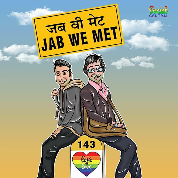 Bollywood's iconic film posters reimagined with same-sex relationships to celebrate Pride month, check out