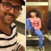Father's Day 2020: Hrithik Roshan shares funny video of son Hridaan sleepwalking, Hrehaan falling asleep at the airport