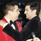 "Karan Johar shares a photo with Sushant Singh Rajput, says ""I blame myself for not being in touch with you"""