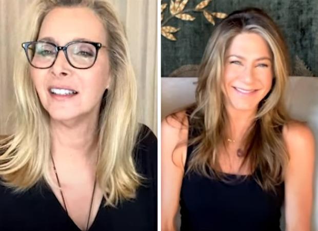 Lisa Kudrow explains to Jennifer Aniston why she doesn't watch Friends re-reuns