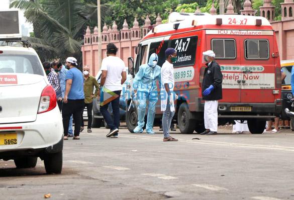 Photos Celebs attend Wajid Khan's funeral (6)