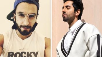 Ranveer Singh crashes Ayushmann Khurrana's live stream, asks about his experience of working with Amitabh Bachchan