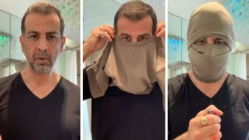 Ronit Roy's DIY mask video goes viral amongst Black Lives Matter protestors for safety reasons and to evade facial recognition