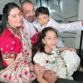 Sanjay Dutt shares a heartwarming throwback photo with Maanayata, Shahraan, Iqra