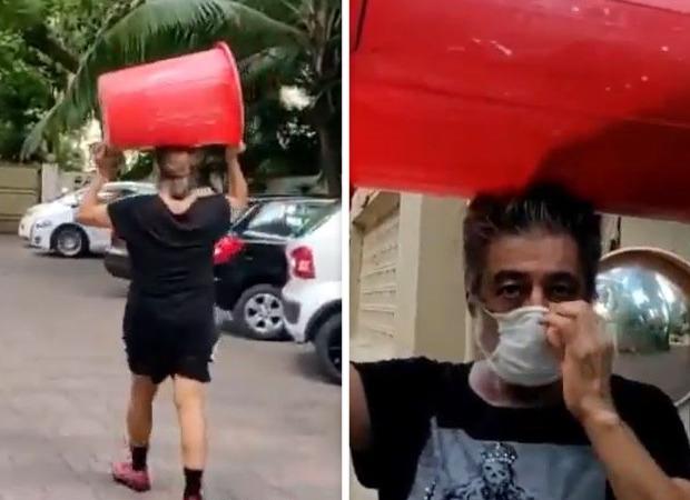 Watch: Shakti Kapoor carries a big drum on his head to buy liquor