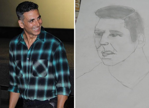 Akshay Kumar feels honoured after a 10-year-old fan chooses him as his first sketch