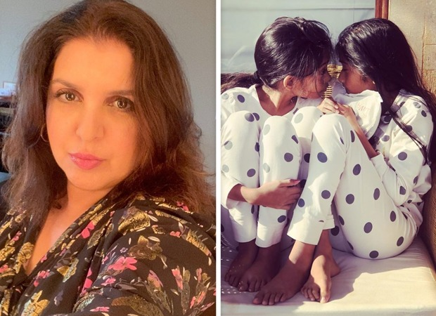 Farah Khan flaunts her creativity, recreates fashionable work on her daughters : Bollywood Information 3