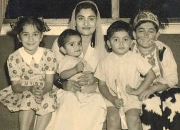 Riddhima Kapoor Sahni shares a priceless childhood picture of pop Rishi Kapoor : Bollywood Information 3