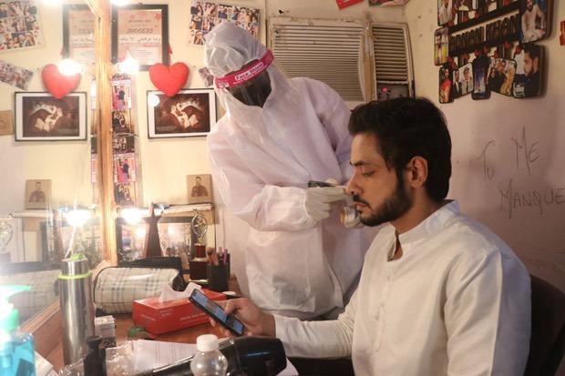 PICTURES Adnan Khan resumes shooting for Ishq Subhan Allah