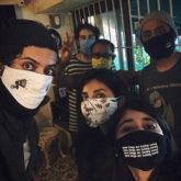 Ali Fazal reunites with Shweta Tripathi, Harshita Gaur and team Mirzapur 2 for dubbing post lockdown