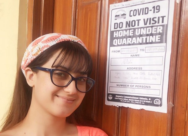 Aalisha Panwar is all smiles as she completes her 14-days-long home quarantine, thanks the Himachal Government