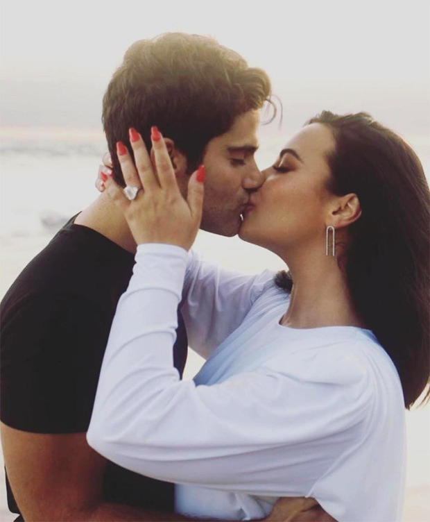 Demi Lovato announces engagement to Max Ehrich in a sweet post