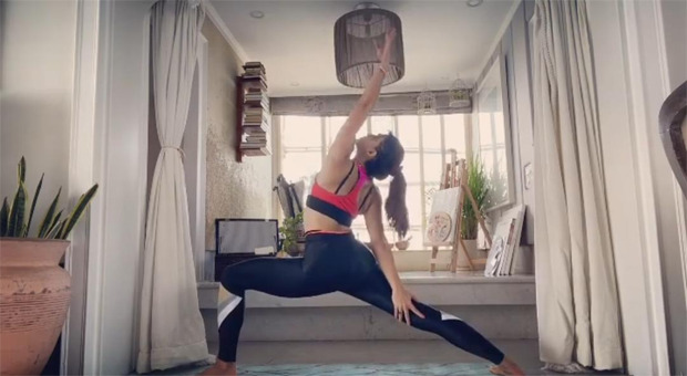 Jacqueline Fernandez reveals how she has been dealing with anxiety with the help of Yoga