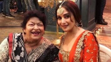 Madhuri Dixit devastated over the death of her mentor Saroj Khan, pens heartfelt tribute