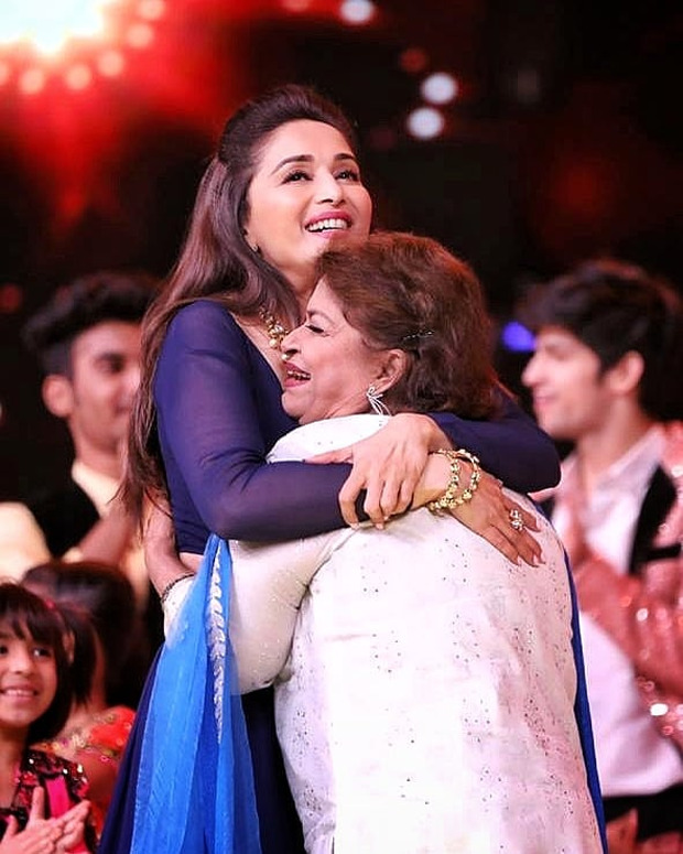 """Madhuri Dixit pays emotional tribute to late Saroj Khan on Guru Purnima – """"There's no one like her & there won't be another like her"""""""