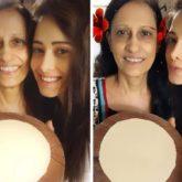 Nushrratt Bharuccha makes the perfect round roti making her mother proud