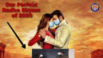 Prabhas and Pooja Hegde's Radhe Shyam poster now has masks courtesy Assam Police