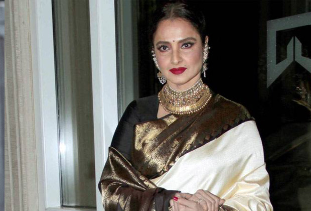 Rekha's Mumbai bungalow sealed after security guard tests positive for COVID-19