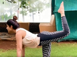 Shilpa Shetty says carrying her 5-month-old daughter is affecting her lower back