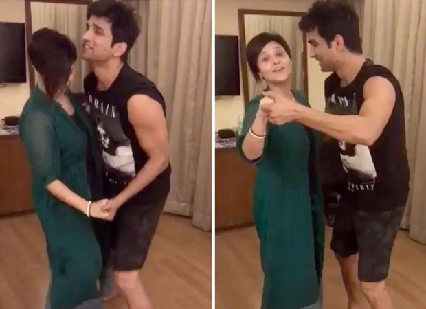 Sushant Singh Rajputs throwback dance video with Swastika breaks the internet