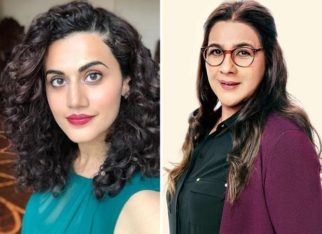Taapsee Pannu shares her first day experience shooting with the 'fierce' Amrita Singh for Badla