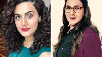 Taapsee Pannu shares her first day experience shooting with the 'fierce' Amrita Singhfor Badla