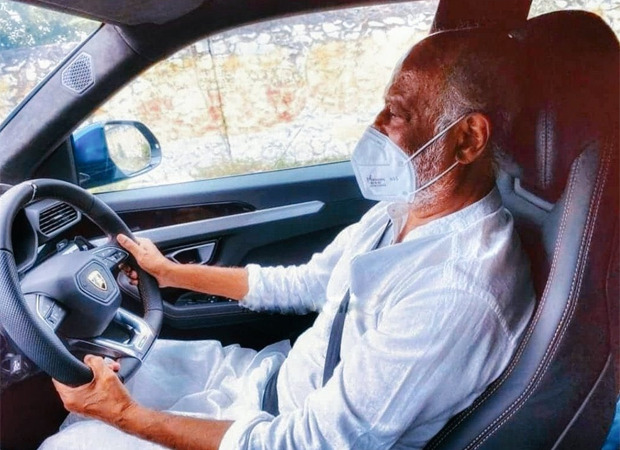Rajinikanth takes a Lamborghini Urus for a drive; pics go viral