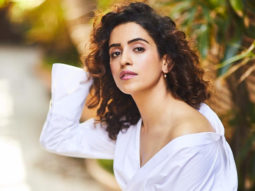 """""""The moment I reached the set, my worries faded"""", says Sanya Malhotra on her recent shooting experience"""