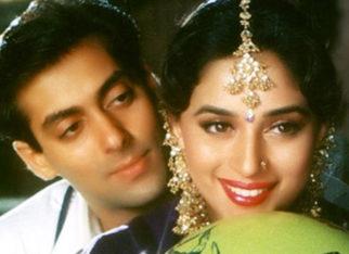 26 Years Of Hum Aapke Hain Koun Madhuri Dixit shares a collage recreating the signature pose with Salman Khan