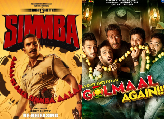 Ajay Devgn starrer Golmaal Again and Ranveer Singh starrer Simmba is all set to re-release in the USA