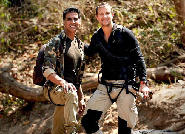 Akshay Kumar and Bear Grylls go on a mad adventure in the trailer of Man vs Wild