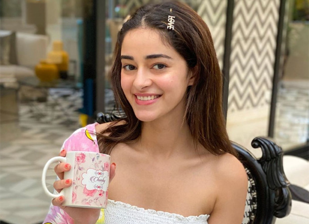Ananya Panday is back shooting on the sets, shares video
