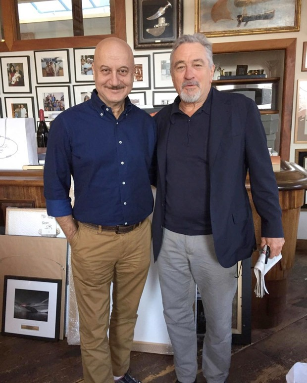 Anupam Kher wishes Robert De Niro on his birthday with throwback posts