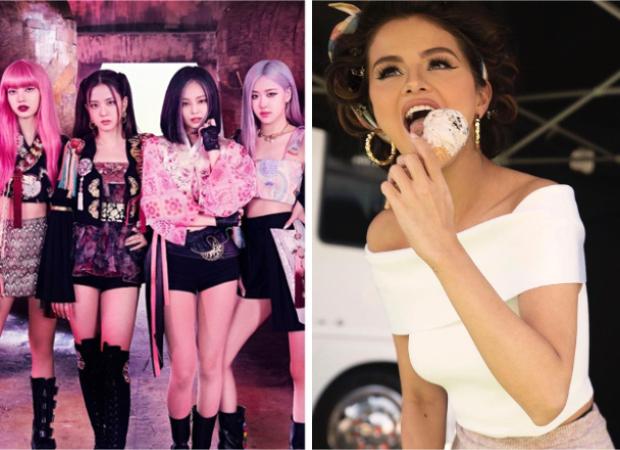 Blackpink Selena Gomez Drop Teaser For Ice Cream