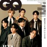 BTS members are acing the classic sartorial game on the October issue of GQ Japan
